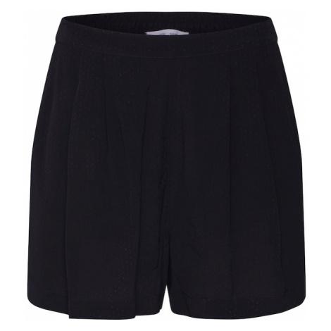 Samsoe Samsoe Plisované nohavice 'Ganda'  čierna