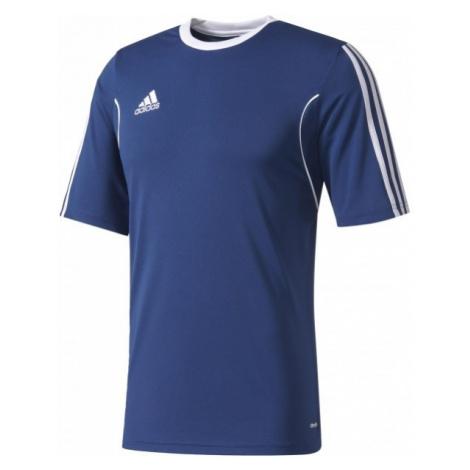 adidas SQUAD 13 JSY SS Y tmavo modrá - Detské tričko - adidas