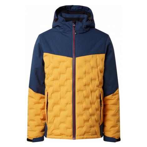 KILLTEC Funkčná bunda 'Skane'  žltá / námornícka modrá