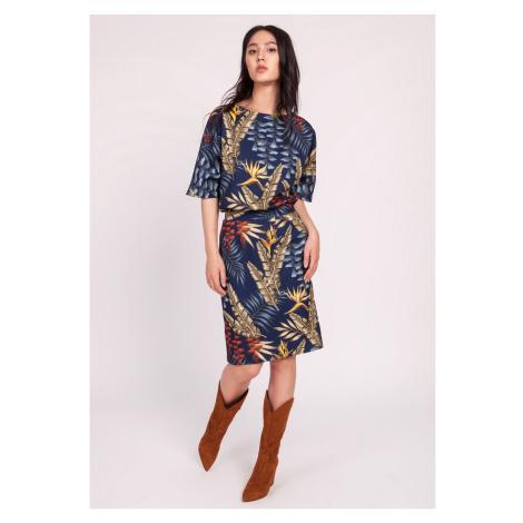 Lanti Woman's Dress Suk123 Patterned