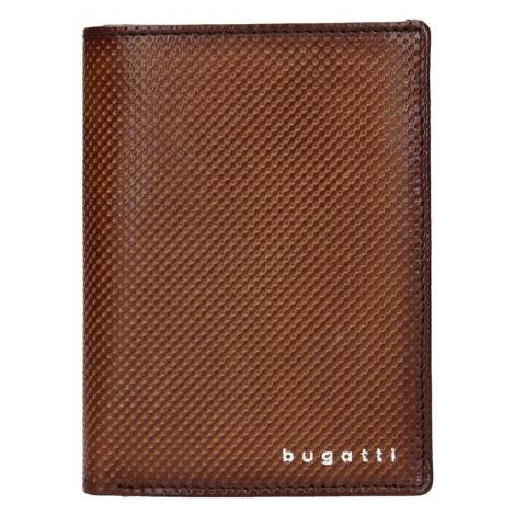 Pánske peňaženky, dokladovky a vizitkáre Bugatti