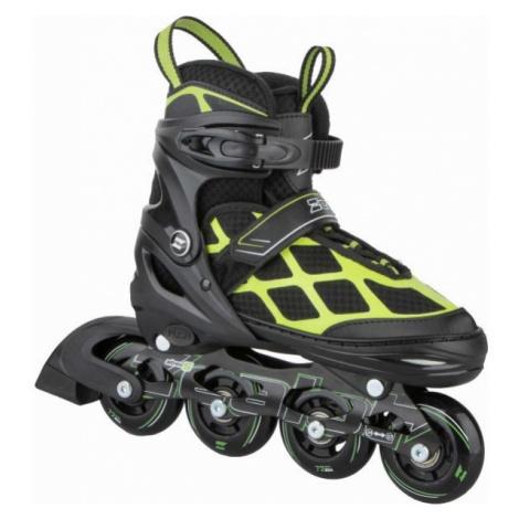 Zealot RACOON čierna - Juniorské kolieskové korčule