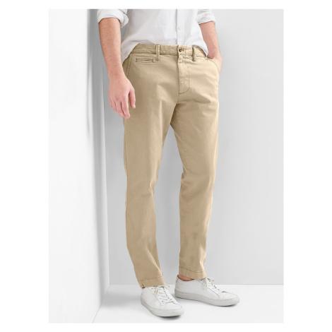 Kalhoty GAP Žltá