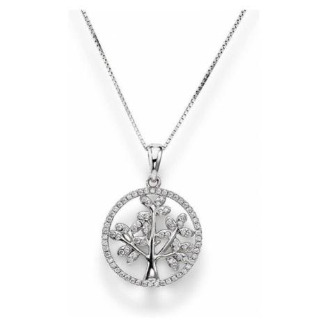 Amen Krásny strieborný náhrdelník Tree of Life CLTL2 (retiazka, prívesok)
