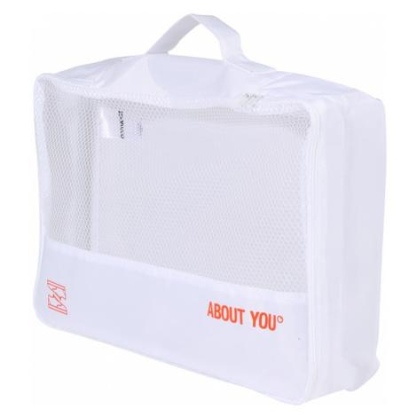 ABOUT YOU Cestovná taška 'Icons'  biela