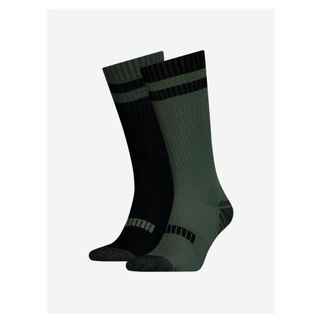 Ponožky 2 páry Puma Čierna