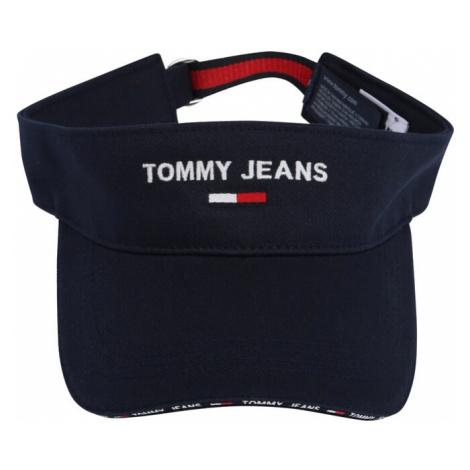 Tommy Jeans Čiapka  námornícka modrá / biela / svetločervená Tommy Hilfiger