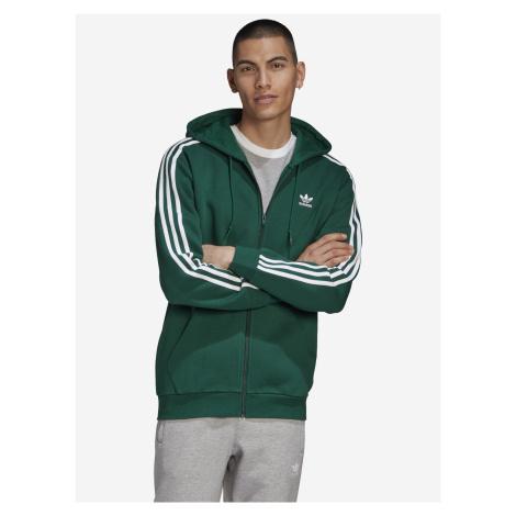 3-Stripes Mikina adidas Originals Zelená