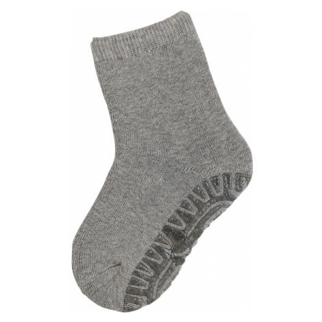 STERNTALER Ponožky 'Fli Fli '  sivá melírovaná