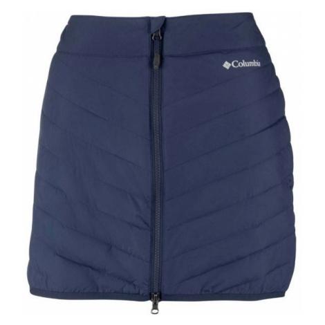 Columbia POWDER LITE SKIRT tmavo modrá - Dámska sukňa