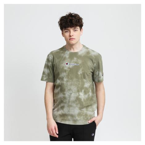 Champion Crewneck T-Shirt olivové