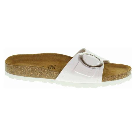Dámské pantofle Salamander 32-13009-30 white 32-13009-30