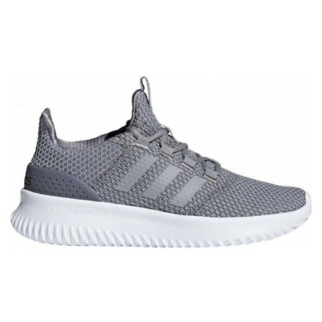 adidas CLOUDFOAM ULTIMATE sivá - Detská obuv na voľný čas
