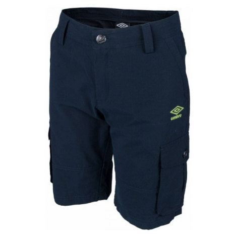 Umbro RAY tmavo modrá - Detské šortky