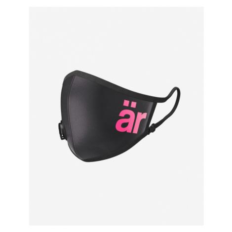 är Big Logo Maska s ventilom a nanofiltrom Čierna