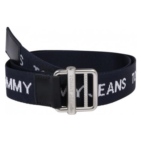 Tommy Jeans Opasky  námornícka modrá / biela Tommy Hilfiger