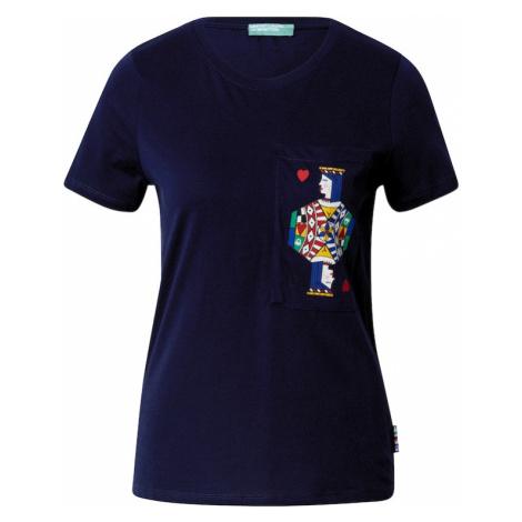 UNITED COLORS OF BENETTON Tričko  námornícka modrá / zmiešané farby