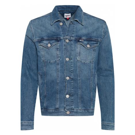 Tommy Jeans Prechodná bunda  modrá denim Tommy Hilfiger