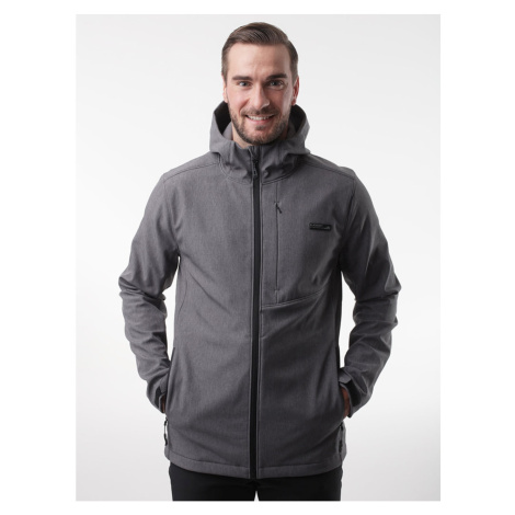 LYKOMEL men's softshell jacket black LOAP