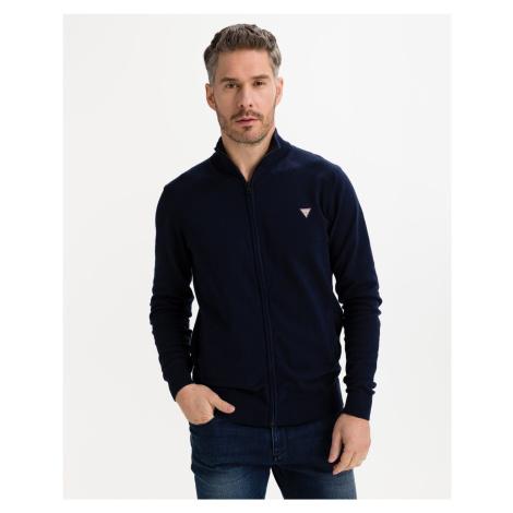 Guess modré pánsky sveter Jermaine - L