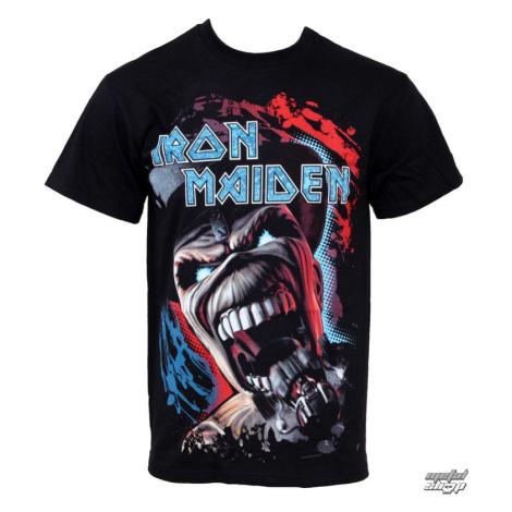 Tričko metal ROCK OFF Iron Maiden Wildest Dreams Čierna