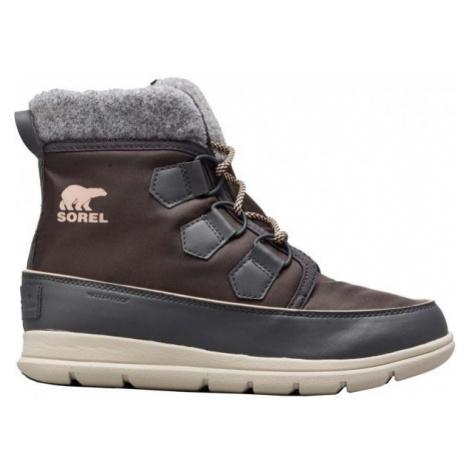 Sorel EXPLORER CARNIVAl tmavo sivá - Dámska zimná obuv