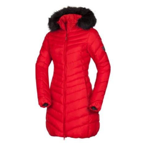 Northfinder VONILA červená - Dámska dlhá zimná bunda
