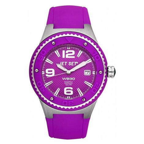 Jet Set Analogové hodinky WB30 J53454-060 s vodotěsností ATM