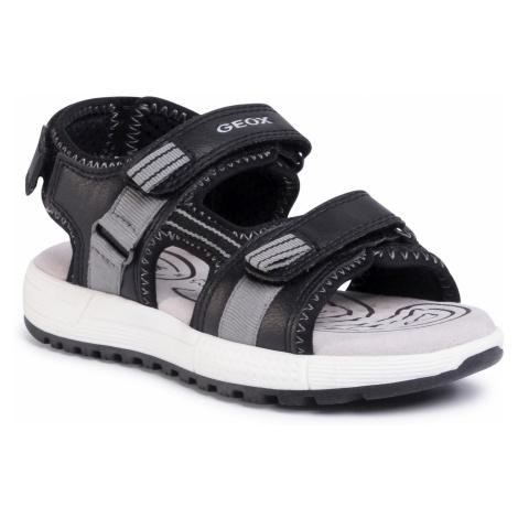 Sandále GEOX - J S.Alben B. D J02AVD 0FE15 C0017 S  Black/Grey
