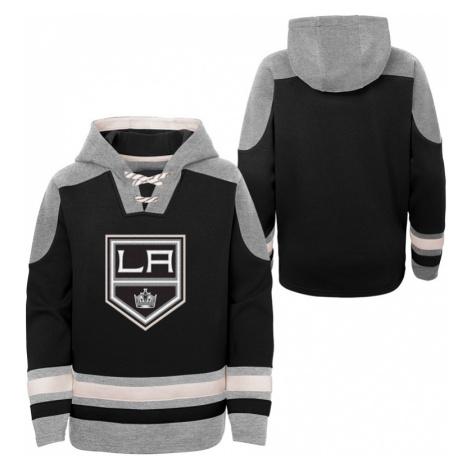 Detská hokejová mikina s kapucňou Outerstuff Ageless must have NHL Los Angeles Kings