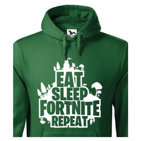Pánská mikina Eat Sleep Fortnite Repeat