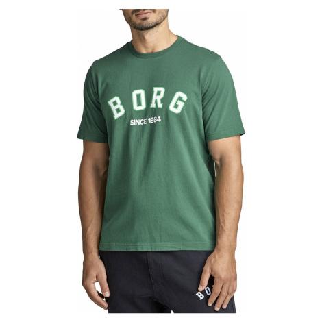 Pánske zelené tričko Tee Borg Sport Bjorn Borg