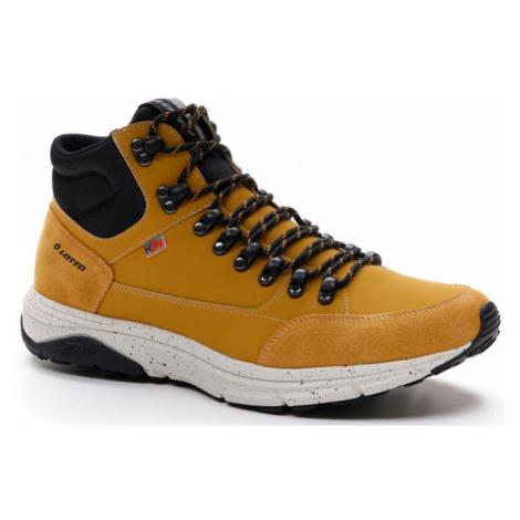 Lotto SIERRA AMF HD PRT žltá - Pánska obuv