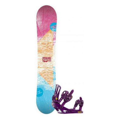 Rossignol RO MYTH LDC+MYTH S/M SET SNB - Dámsky snowboard set