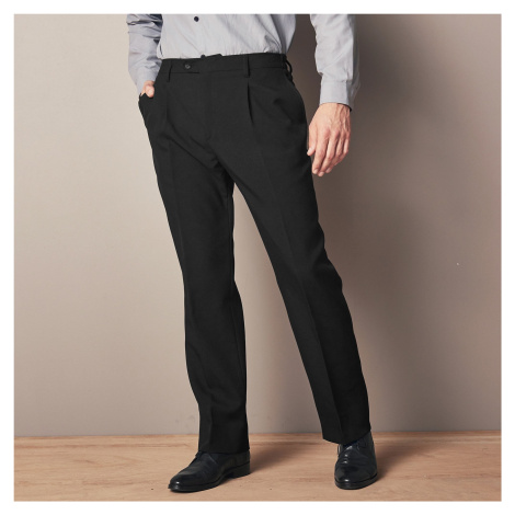 Blancheporte Nohavice, 100 % polyester, elastický pás čierna
