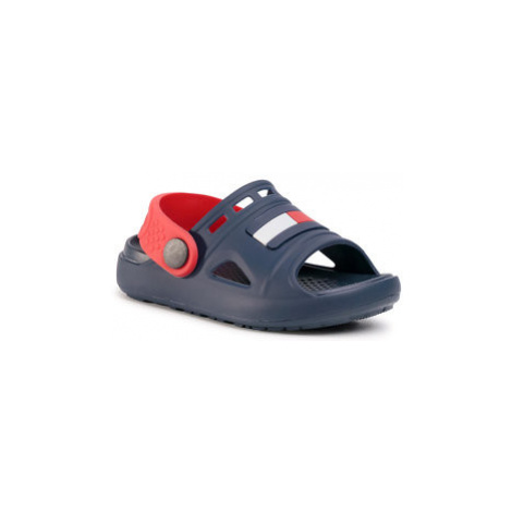 TOMMY HILFIGER Šľapky Comfy Sandal Blue T3X2-30744-0083 M Tmavomodrá