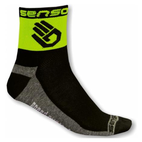 Ponožky SENSOR Race Lite Ruka zelené
