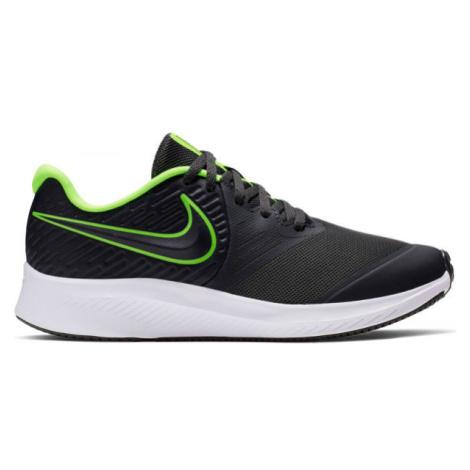 Nike STAR RUNNER 2 GS sivá - Detská bežecká obuv
