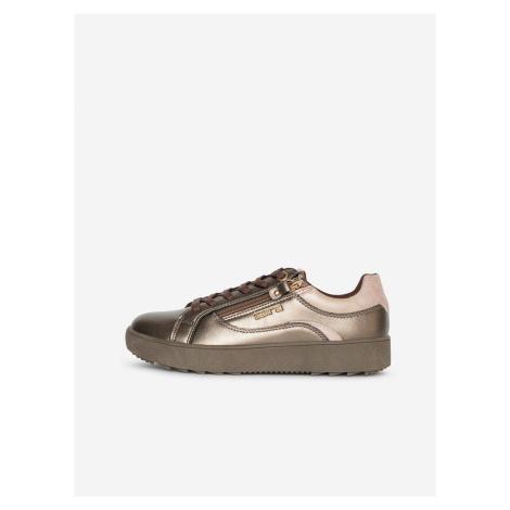 Dámske topánky v bronzovej farbe SAM 73 Celine