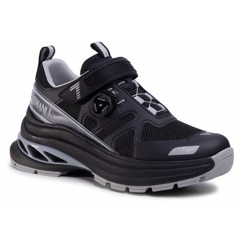 Sneakersy EA7 EMPORIO ARMANI - X8X065 XK146 M863 Black/Neut Grey/Silv