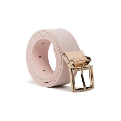 Guess Dámsky opasok Lorenna Belts BW7335 VIN35 Ružová