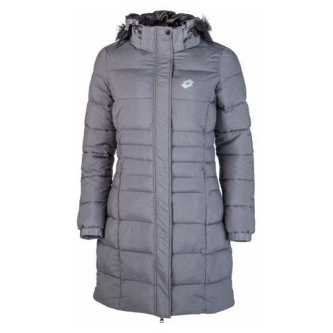 Lotto EDITH tmavo šedá - Dámsky prešívaný kabát
