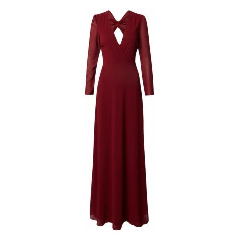 TFNC Večerné šaty 'RIHANNA'  tmavočervená