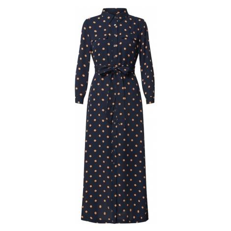 Banana Republic Košeľové šaty 'J LS MAXI SHIRT DRESS PRINT'  námornícka modrá