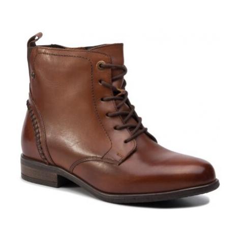 Šnurovacia obuv Lasocki WI16-ENNA-04 Prírodná koža(useň) - Lícova