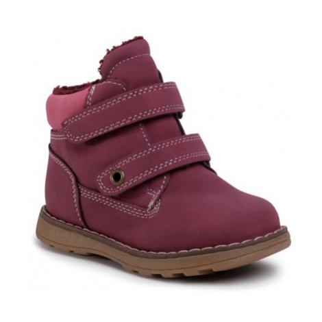 Šnurovacia obuv Nelli Blu CM2029-40(II)DZ koža ekologická