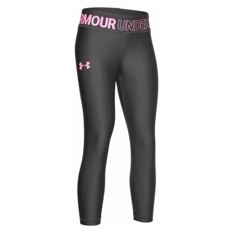 Legíny UNDER ARMOUR HG Ankle Cop Grey/Pink Sivá