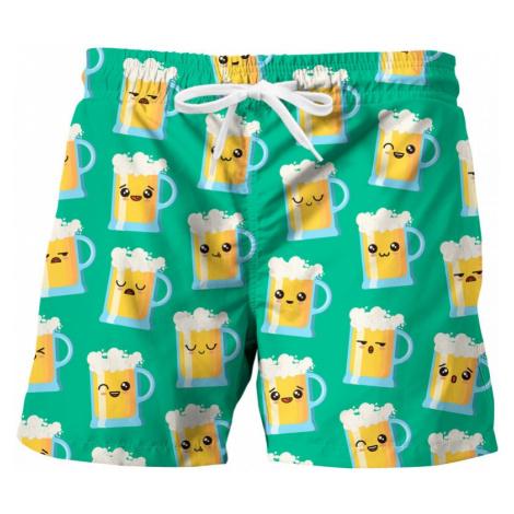 Men's swim shorts Mr. GUGU & Miss GO HAPPY BEER