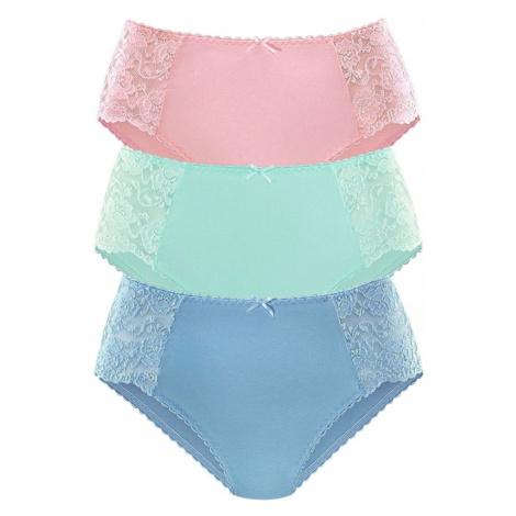 PETITE FLEUR Nohavičky  kráľovská modrá / mätová / rosé