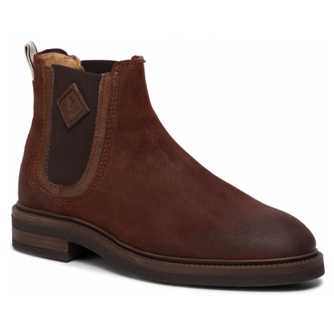 Kotníková obuv s elastickým prvkom GANT - Martin 19653920 Cognac G45